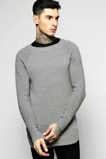 Jersey de hombre en color principal gris de punto