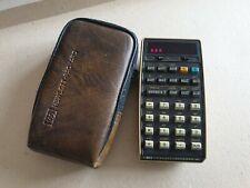 Vintage Hewlett Packard HP 25 Calculator with Case - Working