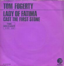 7inch TOM FOGERTY lady of fatima HOLLAND PURPLE COVER EX +PS