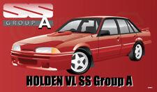 HOLDEN VL SS RED WORKSHOP BANNER GROUP A