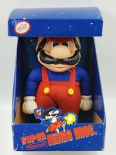"Vintage Nintendo Super Mario Bros Plush 12"" Tall Figure Doll Toy Applause 1989"