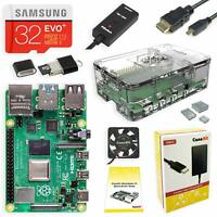 CanaKit Raspberry Pi 4 4GB Starter Kit with Clear Case 4GB RAM