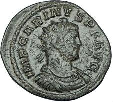 CARINUS Original 284AD Lugdunum Authentic Ancient Roman Coin VICTORY i65842