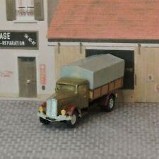 Camion Berliet 1950 - Résine 1/160ème