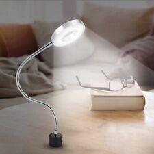 Magnetic Base LED Light Adjustable Gooseneck Work Sewing Lamp 8W 110-220V