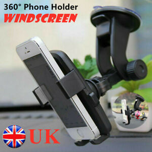 360° Universal In Car Mobile Phone Holder Windscreen Dashboard Suction GPS Mount