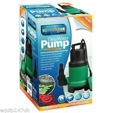250W Compacto Súper Eco Ahorro De Energía Bomba Sumergible Agua Sucia Estanque 10 Metro