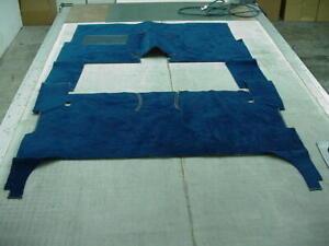 FORD 1974 - 1978 MUSTANG II DARK BLUE NYLON LOOP CARPET