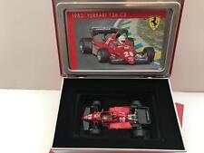 IXO Hot Wheels 1/43 1983 Ferrari 126 C3 in Collectors Tin