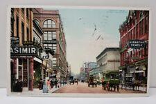 Wabasha Street St Paul Minnesota Photo View 1908 Postcard B13