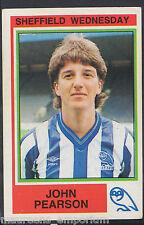 Panini Football 1985 Sticker - No 243 - Sheffield Wednesday - John Pearson