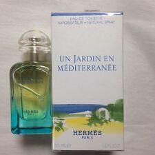 Hermes Un Jardin de Mediterranee 1.7oz EDT Natural Spray NIB Authentic