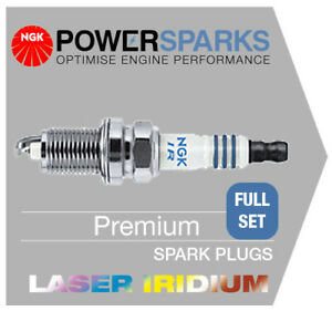 NGK LASER IRIDIUM SPARK PLUGS [x6] BMW X3 3.0 E83 N52 B30A 08/06-> [ILZFR6D11]