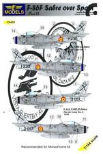 LF Models Decals 1/144 NORTH AMERICAN F-86F SABRE Jet Over Spain Part 2