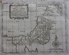 Original antique map, MIDDLE EAST,CANAAN, SODOM & GOMORRAH, G. Rollos, 1774