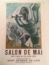 PICASSO AFFICHE SALON DE MAI 1970