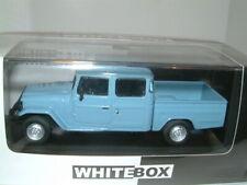 1/43 1976 TOYOTA LAND CRUISER BANDEIRANTE ,TWIN CAB PICKUP, PALE BLUE ,1000 LTD