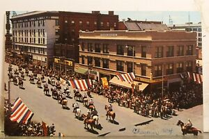 Wyoming WY Cheyenne Frontier Days Parade Postcard Old Vintage Card View Standard