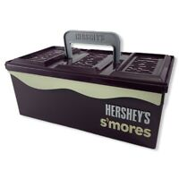 Hershey's S'mores Caddy Carry Case Collectible Marshmallows Graham Crackers Tray