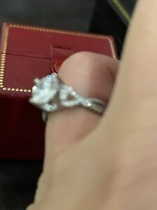 New Without Tags Tacori Platinum Engagement Ring