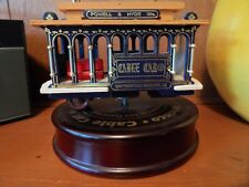 San Francisco Cable Car Music Box On Turn Table