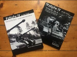 PzKpfwIV Factory Production Differences, Ausf G -H (2 Book Combo)