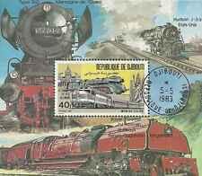 Timbre Trains Djibouti BF36 o réf. Michel lot 363