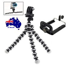 Adjustable 2in1 GoPro iPhone Tripod Mount Stand Flexi Arm Camera HERO 1/2/3/4+5