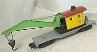 American Flyer No. 909 TinPlate Flatbed with Die Cast Crane