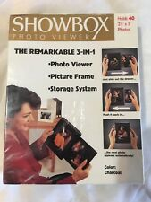 SHOWBOX Photo Viewer: 3-IN-1. Holds 40 photos.
