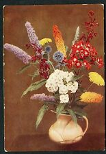 Issued 1937 by Godfrey Phillips. View of Border Flowers in a Jug No10