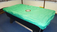 Pool Tables Cover to fit 7,6 & 8ft Tables with 8 Ball Design  Elasticate corners
