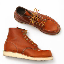 """Red Wing 875 6"""" Classic Moc Toe Boots Oro-Legacy - Size 8 2E"""