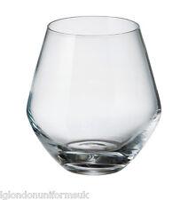 Set of 6 Bohemia Crystal Glasses Tumblers Michelle 500 Ml Whisky Spirits Port N