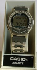 Reloj Casio DB-34H Data Bank 30 Mem. Sumergible 50 M. Vintage-Retro