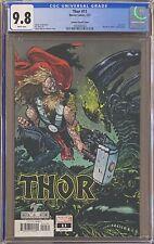 """Thor #11 Johnson """"Marvel vs. Aliens"""" Variant CGC 9.8"""
