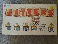 JITTERS WORD GAME By Milton Bradley From 1986 - NEW/SEALED