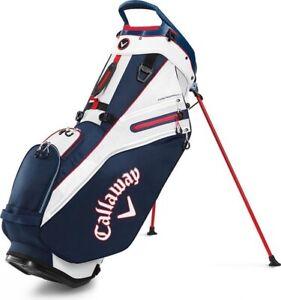 Callaway Fairway 14 Stand Bag Navy Red
