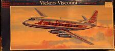 Vintage 1/96 Vickers Viscount Airliner by Glencoe Models