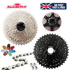 SUNRACE 11-40/42/46T MTB Bike Cassette 8-11s KMC Sprocket Chain Cassettes Hook
