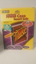 Neato Photomatte Slim Jewel Case Inserts 20 Sets