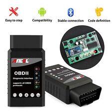 OBDII ELM327 Bluetooth V1.5 Check Engine Light OBD2 Reader Scanner For Android