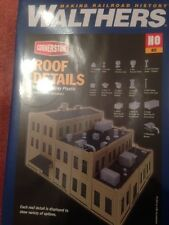Roof Details by Walthers Cornerstone, 933-3733, HO Scale, Brand New Sealed Box