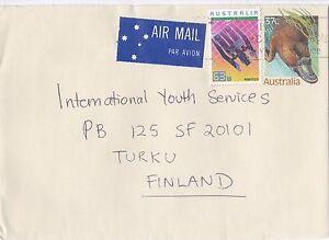 DB858) Nice Uprated PSE to Finland. Platypus, technology & robotics. Price $6