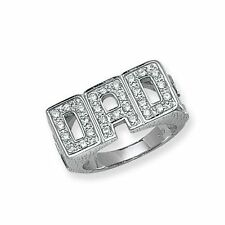 Unbranded Cubic Zirconia Sterling Silver Jewellery for Men