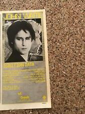 "1982 Vintage 5.25X11 Album Promo Print Ad For John Waite ""Ignition Data"""