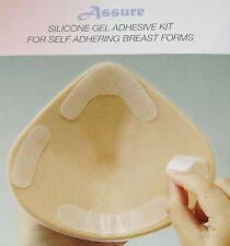 Assure Reusable  Silicone Gel Breast Form Adhesive Tapes
