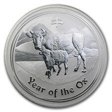 2009 Australia 1/2 kilo Silver Ox BU (Series II, 16.075 oz) - SKU #43888