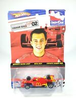 HOT WHEELS INDY CAR SERIES - GRAHAM RAHAL - NEW 1/64 SCALE DIECAST INDY CAR