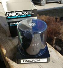 Omega 50mm F/2.8 Omicron-EL Enlarging Lens w/ box and bubble case